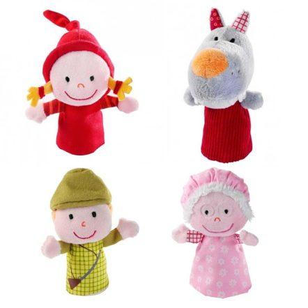 marionetas de dedo Caperucita Roja - Lilliputiens - Brickone ...