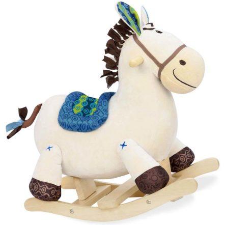 Borsa Cavallo A Dondolo.Cavallo A Dondolo Rodeo Rocker Banjo Battat Brickone Giocattoli Di Qualita