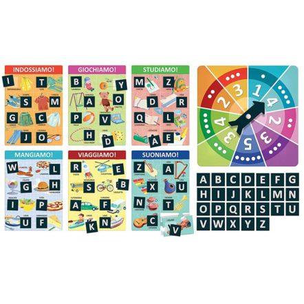 La Grande Tombola Abc Impara A Leggere Con Le Cartelle Lessicali Headu Brickone Giocattoli Di Qualità